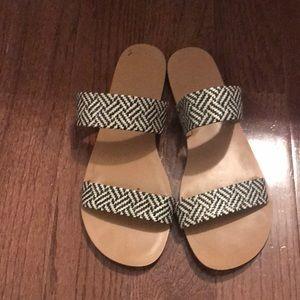 JCrew Flat Sandals